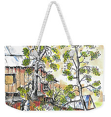 Barns And Trees 1 Weekender Tote Bag