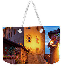 Weekender Tote Bag featuring the photograph Barolo Morning by Brian Jannsen