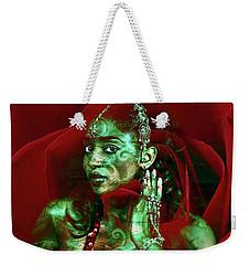 Baroque Meets Oriental Rose Weekender Tote Bag