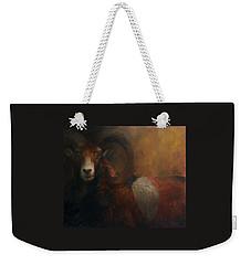 Baroque Mouflon Portrait Weekender Tote Bag