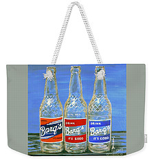 Barq's Trifecta Weekender Tote Bag