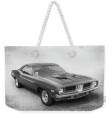Barracuda Weekender Tote Bag by Keith Hawley