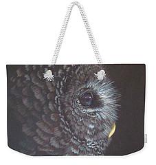 Barred Owl 2 Weekender Tote Bag