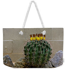 Barrel Against Wall No50 Weekender Tote Bag