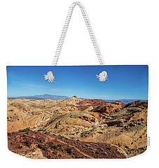 Barren Desert Weekender Tote Bag