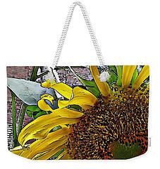Barrio Sunflower 3 Weekender Tote Bag by Sarah Loft