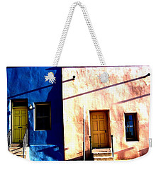 Weekender Tote Bag featuring the photograph Barrio Viejo 1 by Michelle Dallocchio