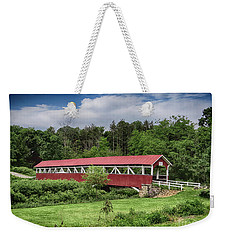 Barronvale Covered Bridge Weekender Tote Bag
