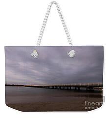 Weekender Tote Bag featuring the photograph Barwon Heads Bridge by Linda Lees