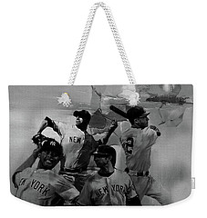 Base Ball Players Weekender Tote Bag by Gull G