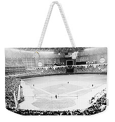 Weekender Tote Bag featuring the photograph Baseball: Astrodome, 1965 by Granger