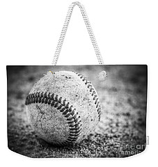 Baseball In Black And White Weekender Tote Bag