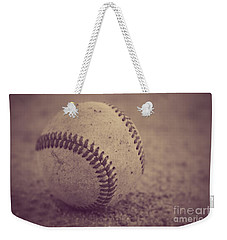 Baseball In Sepia Weekender Tote Bag