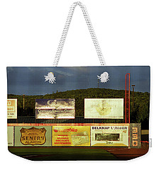 Baseball Sunset 2005 Weekender Tote Bag by Frank Romeo