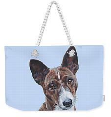 Basenji Dog Painting Weekender Tote Bag