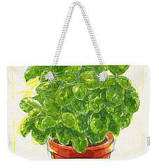 Basil Weekender Tote Bag