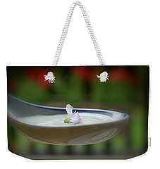 Weekender Tote Bag featuring the photograph Basil by Marija Djedovic