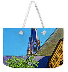 Basilica Of The Sacred Heart Notre Dame Weekender Tote Bag by Dan Sproul