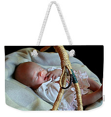 Basket Baby Weekender Tote Bag by Ellen O'Reilly