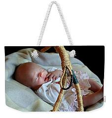 Basket Baby Weekender Tote Bag