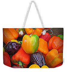 Basket Full O'peppers Weekender Tote Bag