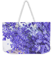 Basket Of Lavender Weekender Tote Bag