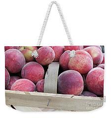 Basket Of Peaches Weekender Tote Bag