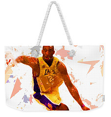 Weekender Tote Bag featuring the painting Basketball 24 A by Movie Poster Prints