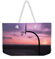 Basketball Court At Sunset Weekender Tote Bag