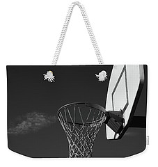 Weekender Tote Bag featuring the photograph Basketball Court by Richard Rizzo