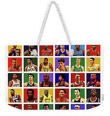 Basketball Legends Weekender Tote Bag