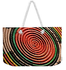 Basketry Color Weekender Tote Bag