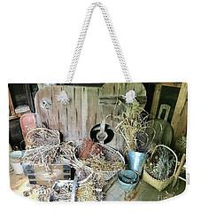 Baskets And Herbs Weekender Tote Bag