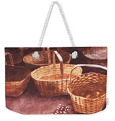 Baskets In The Sun Weekender Tote Bag