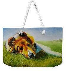 Basking Weekender Tote Bag