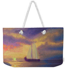 Basking In The Sun Weekender Tote Bag by Holly Martinson
