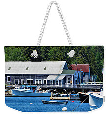 Bass Harbor Maine Weekender Tote Bag