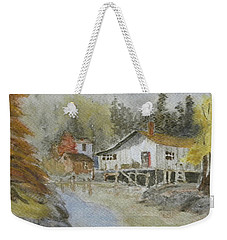 Bass Harbor Retreat Weekender Tote Bag