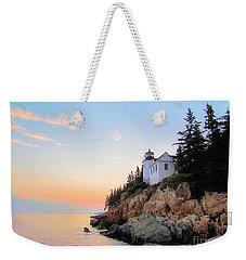 Bass Harbor Sunset II Weekender Tote Bag