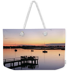 Bass River Before Sunrise Weekender Tote Bag by Roupen  Baker