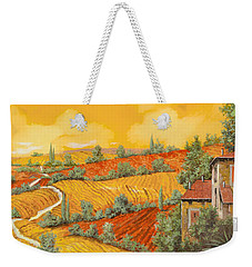 Bassa Toscana Weekender Tote Bag by Guido Borelli