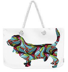 Basset Hound Spirit Glass Weekender Tote Bag