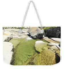 Weekender Tote Bag featuring the photograph Bassi Bliss by Sean Sarsfield