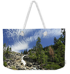 Weekender Tote Bag featuring the photograph Bassi Flow by Sean Sarsfield