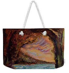 Bat Cave St. Philip Barbados  Weekender Tote Bag