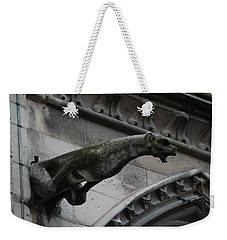Bat Eared Dog Gargoyle Of Notre Dame Weekender Tote Bag