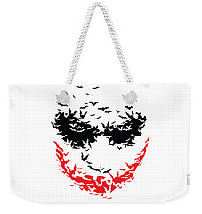Bat Face Weekender Tote Bag