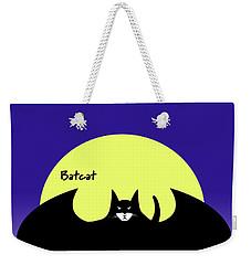 Batcat Weekender Tote Bag