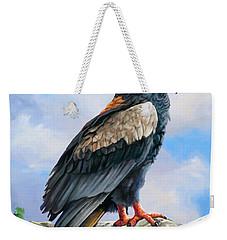 Bateleur Eagle Weekender Tote Bag by Anthony Mwangi