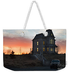 Bates Motel At Night Weekender Tote Bag